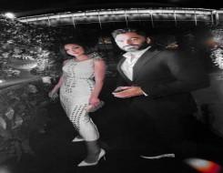 العرب اليوم - بسمة بوسيل تتألق بإطلالة كلاسيكية برفقة زوجها تامر حسني