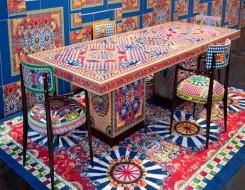 """العرب اليوم - ألوان مبهجة تتضمنها أول مجموعة مفروشات من """"Dolce & Gabbana Casa"""""""