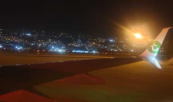 سقوط طائرة مدنية لبنانية لنادي الطيران في البحر والبحث جار عن شابين