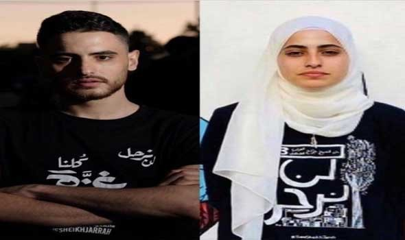 العرب اليوم - الناشطة الفلسطينية منى الكرد وشقيقها ضمن الـ 100 شخصية الأكثر تأثيراً بالعالم