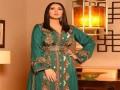 العرب اليوم - تشكيلة قفاطين باللون الأخضر لإطلالة فخمة وأنيقة