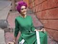 العرب اليوم - ملابس محجبات باللون الأخضر محتشمة ومواكبة للموضة