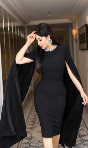 العرب اليوم - لجين عمران تتألق بفستان أنيق وإطلالة فخمة